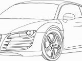 Audi R8 Coloring Page Car Free Clipart 300