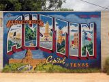 Austin Mural Wall Location Austin Mural at Roadhouse Relics