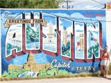 Austin Mural Wall Location Greetings From Austin Mural Aktuelle 2020 Lohnt Es Sich