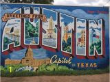 Austin Texas Wall Murals Greetings From Austin Mural Aktuelle 2020 Lohnt Es Sich