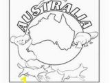 Australian Outback Coloring Pages Australian Flag Coloring Page Free Printable Coloring Pages
