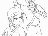 Avatar the Last Airbender Coloring Pages Avatar the Last Airbender Coloring Lesson