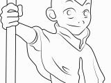 Avatar the Last Airbender Coloring Pages Cute Aang Coloring Page Free Avatar the Last Airbender