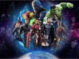 Avengers Endgame Wall Mural Avengers 4 Infinity War Laminated Art Poster 24x36in