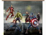 Avengers Endgame Wall Mural Avengers Marvel Kinderzimmer Gardine Vorhang 180×160 Cm 2