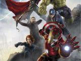 Avengers Full Size Wall Mural Komar Papiertapete Velvet 368 254 Cm Kaufen