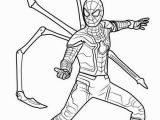 Avengers Infinity War Spiderman Coloring Pages Iron Spider In Infinity War Coloring Page Free Printable