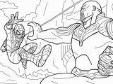 Avengers Infinity War Spiderman Coloring Pages Spiderman Vs Thanos Avengers Infinity War Scene Avengers