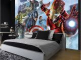 Avengers Wall Mural Wallpaper Mauk Wall Best Avenger Wallpaper