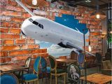 Aviation Wall Murals Custom Mural Wallpaper for Walls 3d Stereoscopic Aircraft