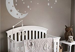 Baby Boy Nursery Murals 38 Dazzling Moon and Stars Nursery Decoration Ideas