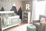 Baby Boy Room Wall Murals Design Reveal Mountain Inspired Nursery