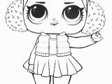 Baby Cat Lol Doll Coloring Page Lol Surprise Doll Coloring Pages Snow Angel