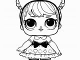 Baby Cat Lol Doll Coloring Page Related Image