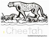 Baby Cheetah Coloring Pages Color Pages Cute Baby Cheetah Coloring Pages Real Color