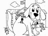 Baby Clifford Coloring Pages 30 Clifford Coloring Pages