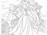 Baby Disney Princess Coloring Pages Disney Tangled Coloring Web Page with Images