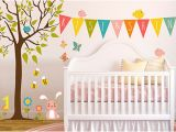 Baby Girl Room Wall Murals Nursery Wall Decals & Kids Wall Decals