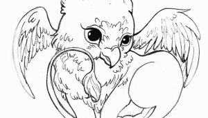 Baby Griffin Coloring Pages Acorns to Color and Print