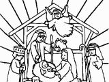 Baby Jesus In the Manger Coloring Page Jesus Born In Manger Pictures and Christ Nativity Images