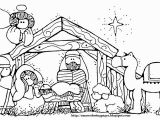 Baby Jesus In the Manger Coloring Page Jesus Manger Drawing at Getdrawings