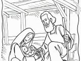 Baby Jesus In the Manger Coloring Page Xmas Coloring Pages