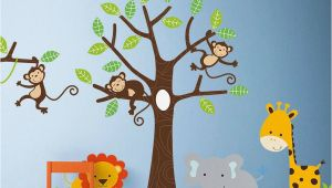 Baby Jungle Wall Murals Children S Jungle Wall Sticker Set by Parkins Interiors