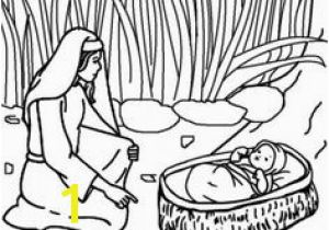 Baby Moses Coloring Page Printable 479 Best Kids Moses Images On Pinterest In 2018