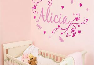 Baby Name Wall Murals Pin On Girls Wall Decals