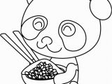 Baby Panda Coloring Pages Baby Panda to Color