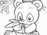 Baby Panda Coloring Pages Pics for Panda Bear Coloring Pages Baby Giraffe S
