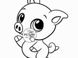Baby Pikachu Coloring Pages Baby Pig Animal Coloring Page for Kids Baby Animal Coloring