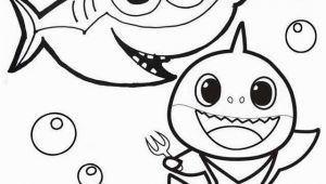 Baby Shark Coloring Pages to Print 10 Best Free Printable Baby Shark Coloring Pages for Kids