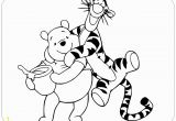 Baby Winnie the Pooh and Tigger Coloring Pages Coloring Page Of Winnie the Pooh and Tigger Winniethepooh