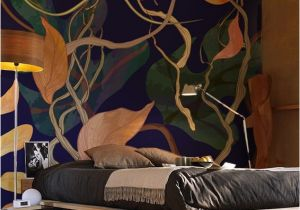 Back to the Wall Murals Amazing Floral Wall Mural by Pixers 3
