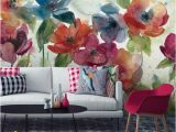 Back to the Wall Murals Floral Wallpaper Has Updated and is Back to Add Drama to