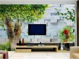 Backlit Wall Murals Custom 3d Wall Murals Hand Painted Big Tree Beautiful 3d