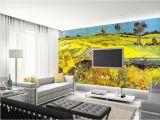 Backlit Wall Murals Custom 3d Wallpaper World Famous Oil Painting Van Gogh Wheat