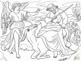 Balaam and His Donkey Coloring Page 301 Moved Permanently