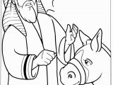 Balaam and His Donkey Coloring Page Balaam and the Talking Donkey Crafts Google Search