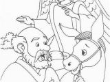 Balaam and His Donkey Coloring Page Balaam S Donkey Coloring Page Wallpaper
