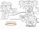 Balaam and His Donkey Coloring Page Free Bible Coloring Page Balaam S Donkey