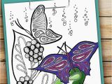 Ballon Coloring Page Coloring Pages Flowers and butterflies Best Fresh Fresh