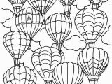 Balloons Coloring Pages to Print Balloons Coloring Pages Coloring and Drawing Unique Balloon Coloring