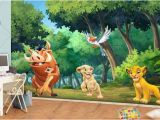 Bambi Wall Mural Style Your Walls Simba Wall Mural the Lion King Wall Mural