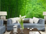 Bamboo Mural Walls Nature Bamboo forest Mural Wallpaper Living Room Bedroom Wall