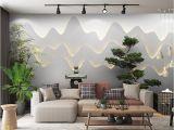 Bamboo Mural Walls Retail 3d Three Dimensional Zen Garden Landscape Background Wall