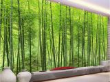 Bamboo Wall Mural Wallpaper Cheap Papel De Parede 3d Buy Quality Papel De Parede