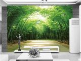 Bamboo Wall Mural Wallpaper Hot Selling Bamboo Design 3d Wall Murals Home Decor