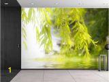 Banksy Wall Mural Wallpaper Tree Framing A Serene Lake Wall Mural Removable Sticker